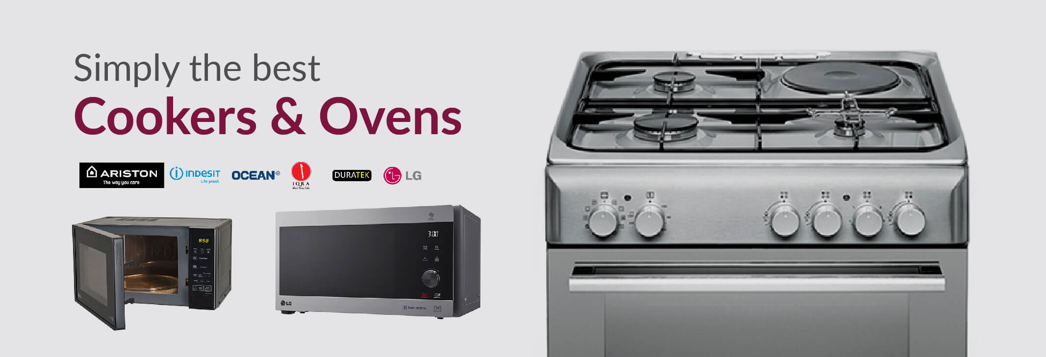 Cookers and Ovens